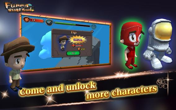 Funny Stone Road: path Endless apk screenshot