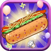 Hot Dog Fever Cooking Game icon