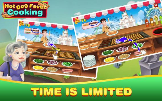 Hot Dog Fever Cooking Game screenshot 9