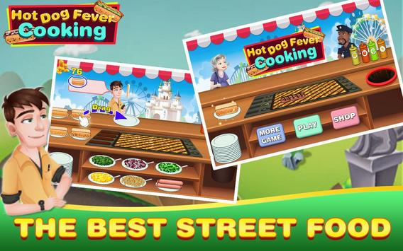 Hot Dog Fever Cooking Game poster
