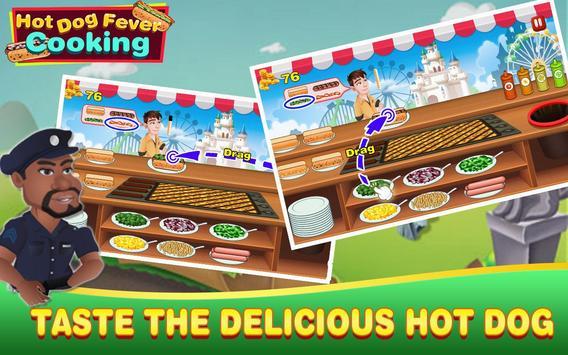 Hot Dog Fever Cooking Game screenshot 2