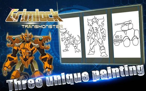 Grimlock:Robot Build and Paint screenshot 2