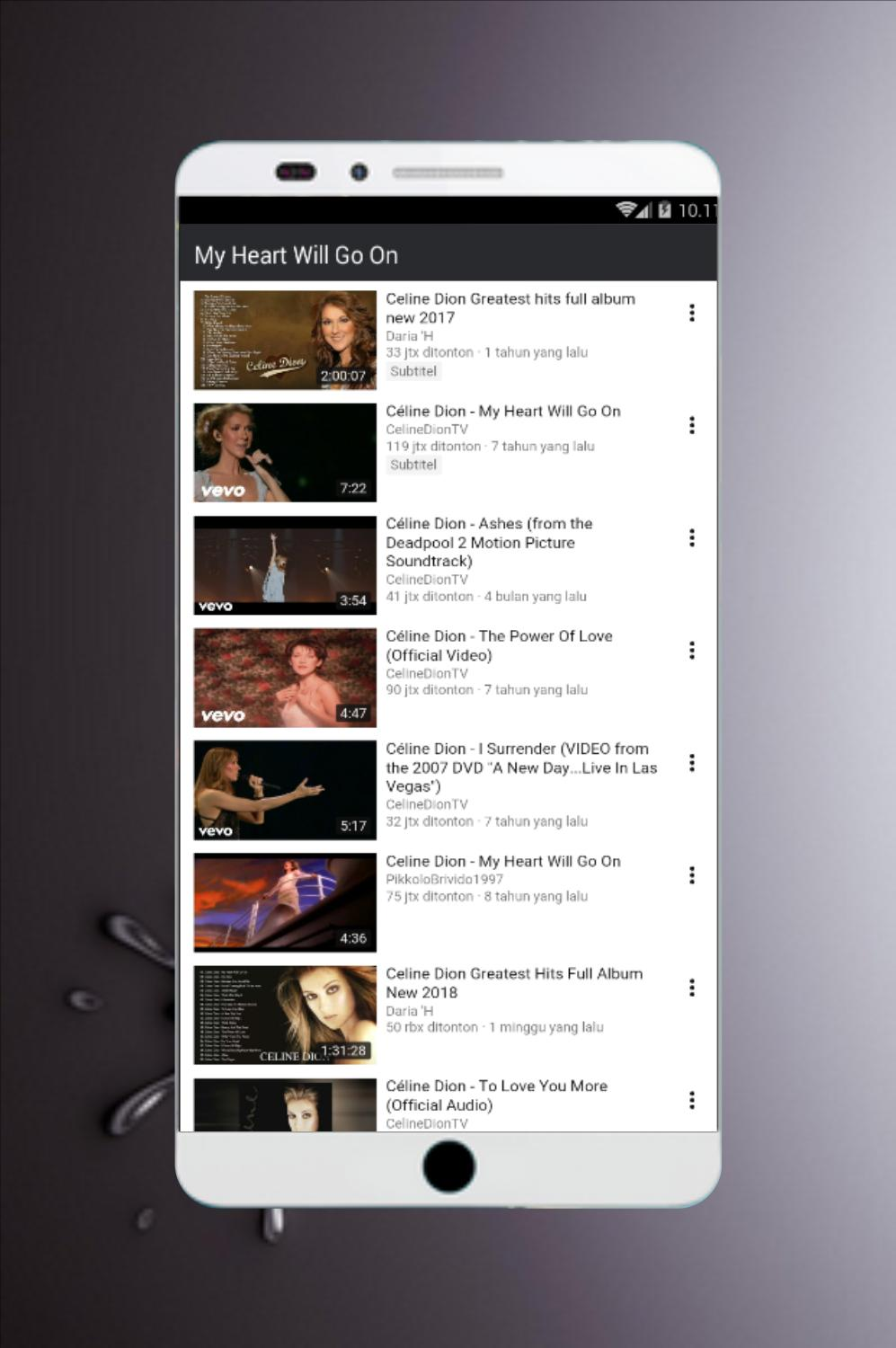 MP3 Celine Dion for Android - APK Download