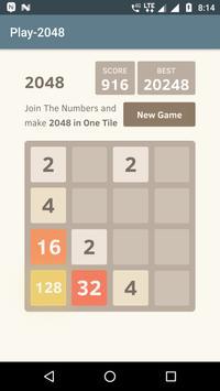 PLAY-2048 screenshot 1