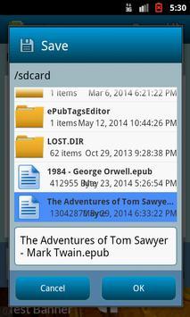 ePub Tags Editor screenshot 5