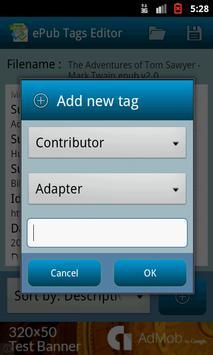 ePub Tags Editor screenshot 3
