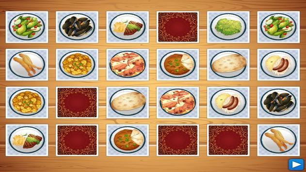 Dish Memo Game For Kids screenshot 13
