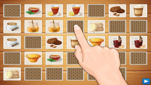 Dish Memo Game For Kids screenshot 14