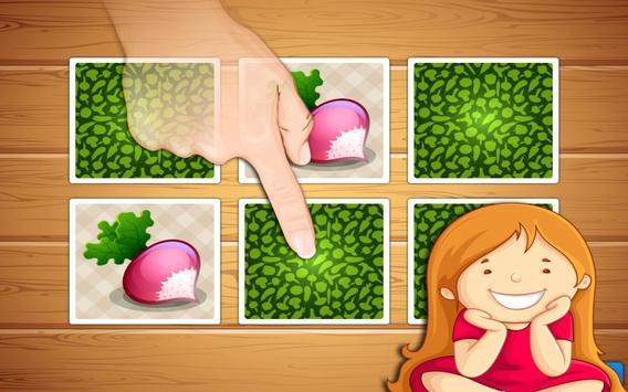 Dish Memo Game For Kids apk screenshot