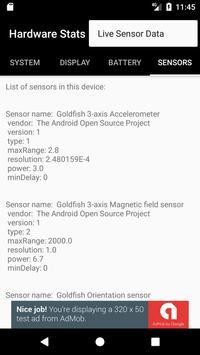 Hardware Stats apk screenshot