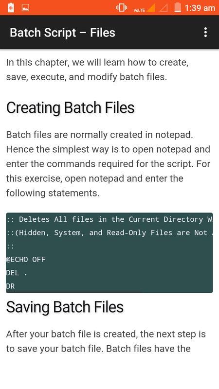 basic batch file tutorial