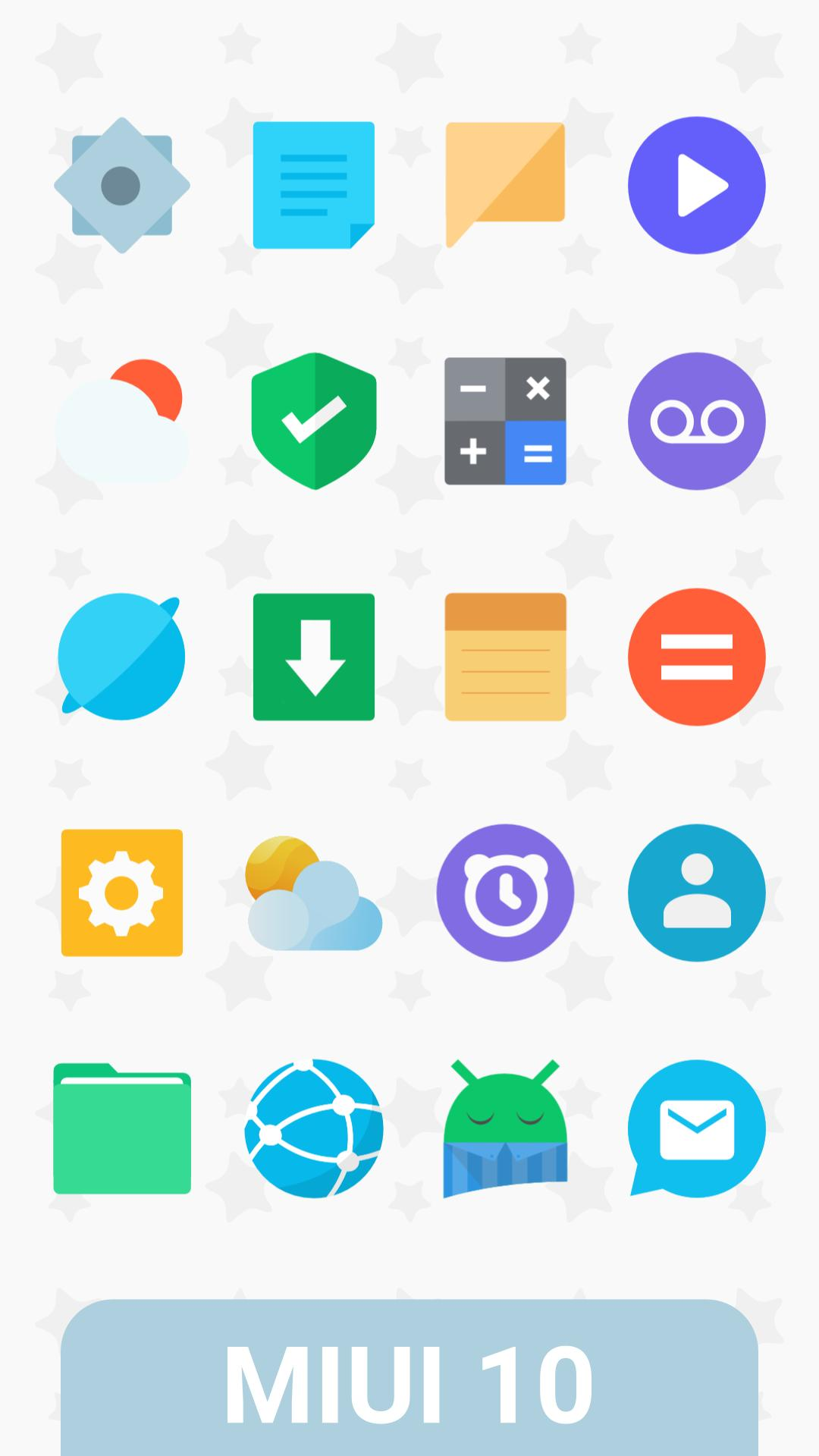 MIUI 10 Icon Pack for Android - APK Download