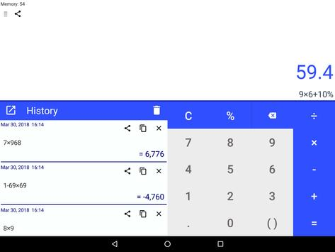 CalQwik Calculator screenshot 10