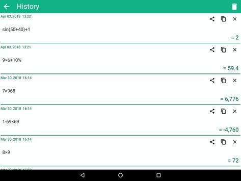 CalQwik Calculator screenshot 11