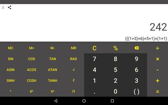 CalQwik Calculator screenshot 19