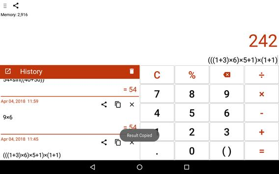 CalQwik Calculator screenshot 20
