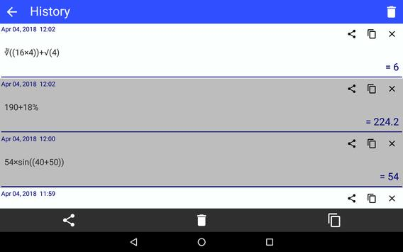 CalQwik Calculator screenshot 22