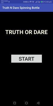 Truth N dare Spinning Bottle screenshot 1