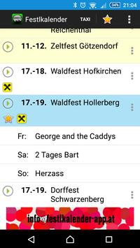 Festlkalender apk screenshot
