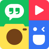PhotoGrid: Video & Pic Collage Maker, Photo Editor biểu tượng