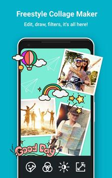 Photo Grid: Collage de Fotos & Editor de Fotos captura de pantalla de la apk