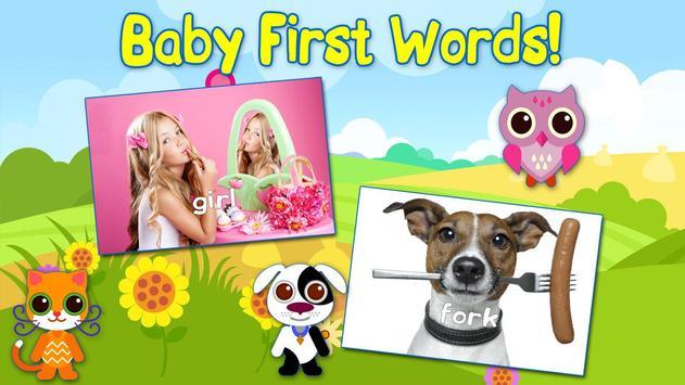 Baby First Words Book 1 Free screenshot 10