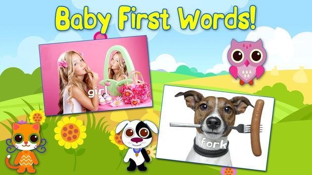 Baby First Words Book 1 Free screenshot 5