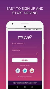 Muve Driver apk screenshot