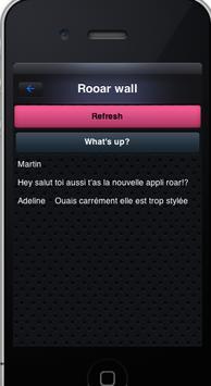 Roar messenger screenshot 1