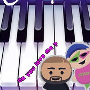 Keke Challenge Piano - Do you love me poster