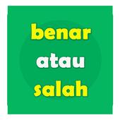 Game Benar Salah icon