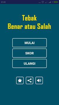 Game Benar Salah poster