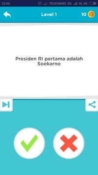 Game Benar Salah screenshot 1
