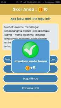 Game Tebak Lagu - Sekilas Lyric screenshot 3