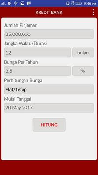 Hitung Kredit Bank apk screenshot