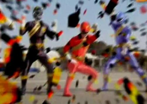 Super Samurai Megaforce games poster