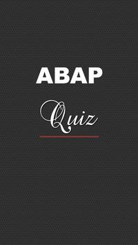ABAP Quiz poster