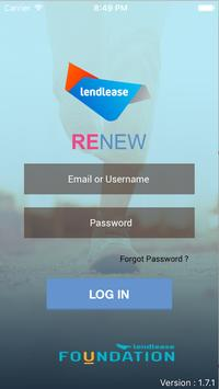 RENEW by Lendlease poster