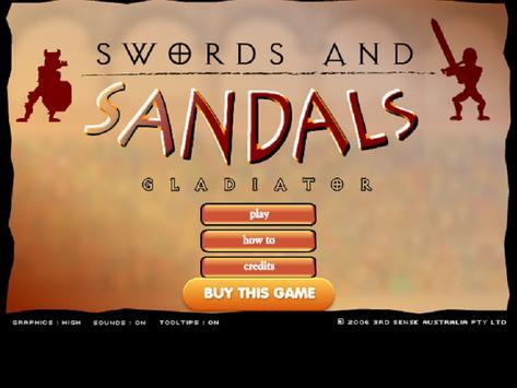 Swords and Sandals apk screenshot