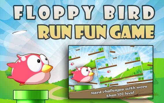 Floppy Bird Run Fun Game poster
