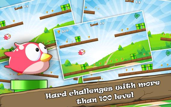 Floppy Bird Run Fun Game apk screenshot