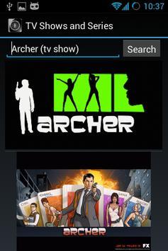 TV Shows and Series apk screenshot