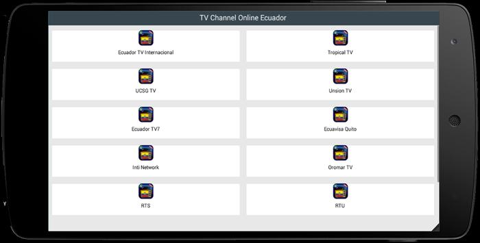 TV Channel Online Ecuador poster