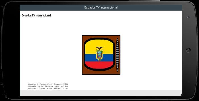 TV Channel Online Ecuador screenshot 1