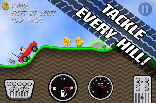 Road Rush Racing Up Hill Climb poster