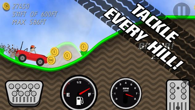 Road Rush Racing Up Hill Climb screenshot 14