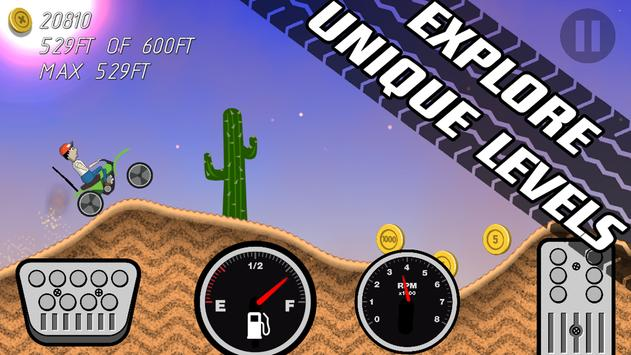 Road Rush Racing Up Hill Climb screenshot 17