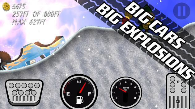 Road Rush Racing Up Hill Climb screenshot 13