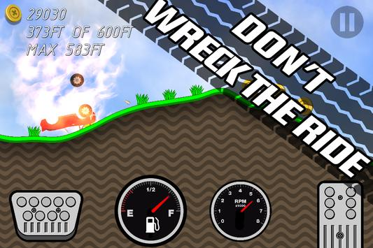 Road Rush Racing Up Hill Climb screenshot 1