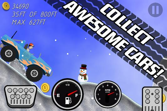 Road Rush Racing Up Hill Climb screenshot 2